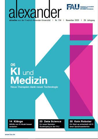 Artikel im Universitätsmagazin der Friedrich Alexander Universität